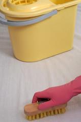 Nettoyage à la brosse