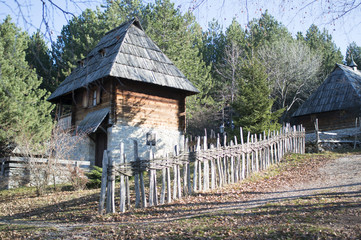 traditional serbian house