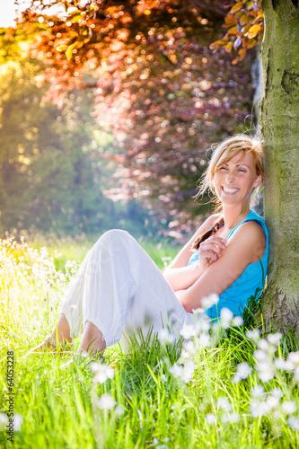 relaxing meadow