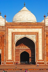 India - Agra - Moschea Taj Mahal