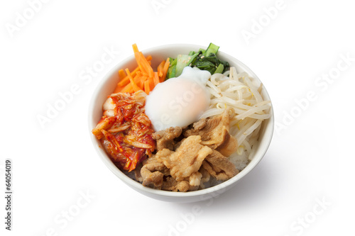 Korean rice dish / Bibimbap