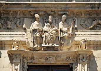Ayuntamiento de Sevilla, San Fernando, San Isidoro, San Leandro