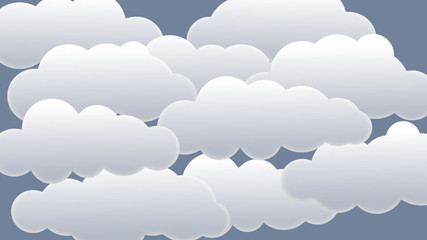 Clouds, unzip and blue sky! + isolated zip + alpha matte