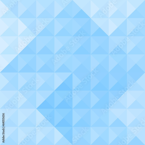 Blue triangle pattern4