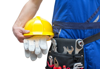 Utensilien für Bauarbeiter // Utensils for construction workers