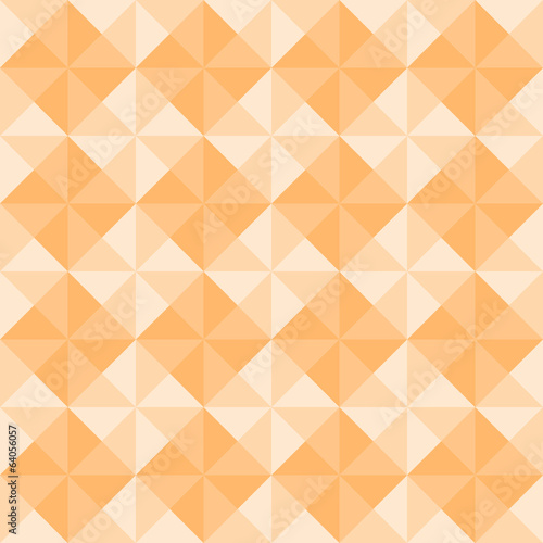 Orange triangle pattern3
