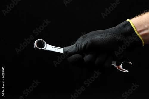 One Key bolts and a Hand