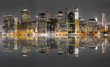 Fototapeta Nowy York - New York City night view © aiisha