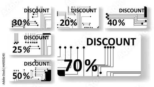 Circuit board discount cards