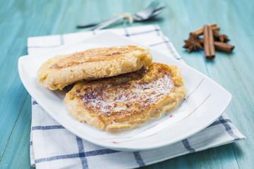 Torrijas de semana santa, french toast, gypsi toast, eggy bread