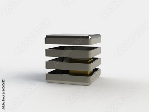 Abstract 3d icon