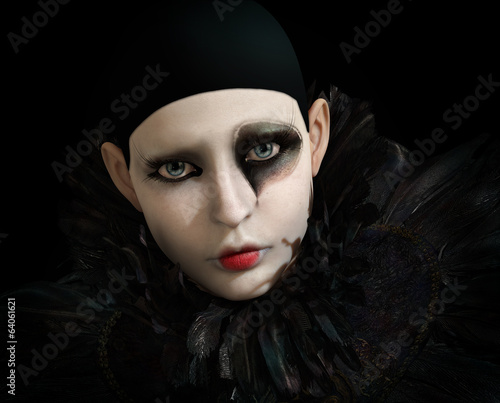 Black Pierrot, 3d CG