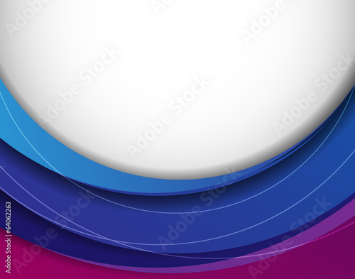 Vector abstract background with colorful layers