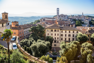 old town of Perugia, Umbria, Italy