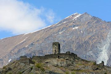 Ruderi del Castello di Chenal - Montjovet (Ao)