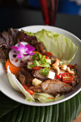 Thai Salad with Crispy Duck