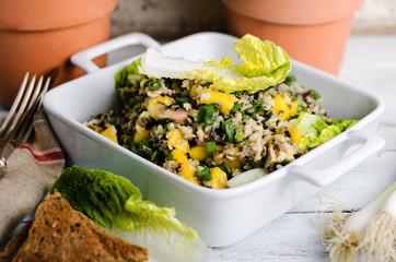 Hähnchensalat mit Mango