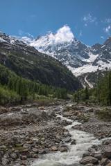 the Monte Rosa Alps