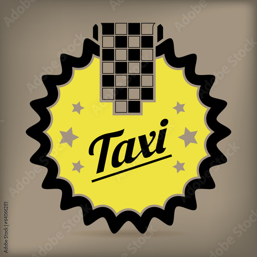 Taxi badge design