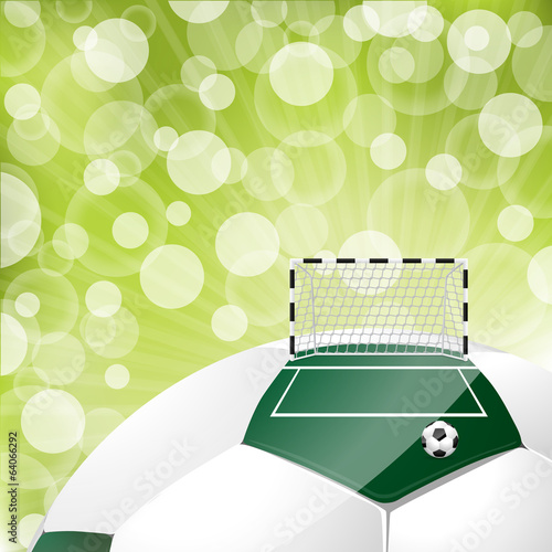 Cool soccer background design