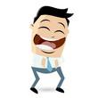 cartoon lachen spaß freude glücklich