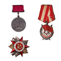 three Orders of the Great Patriotic War