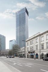 Cosmopolitan building in Warsaw