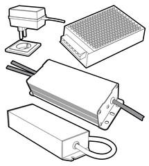 power supply case
