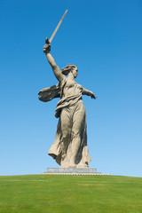 The monument of Motherland Calls in Mamayev Kurgan memorial