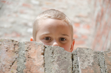 Verstecktes Kind