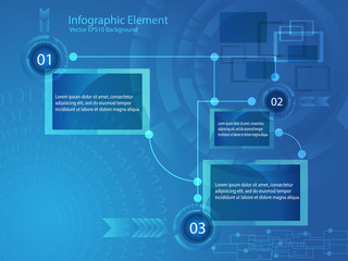Abstract Infographic Modern Style Vector Illustration