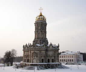 Church of Our Lady (Znamenskaya) in Dubrovitsy