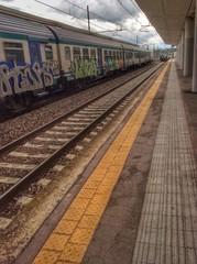 treno in arrivo
