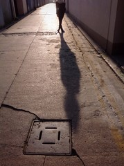 back alley shadow