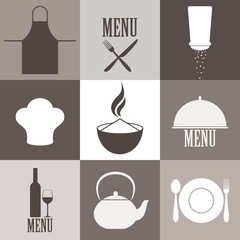 Cooking. Icon Set
