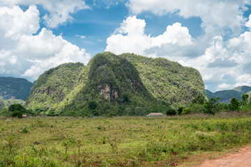 Mountains at the Vinales valley in Cuba