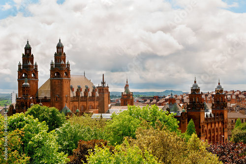 Towers of Kelvingrove Art Gallery and Museum