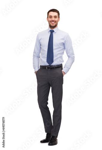 handsome buisnessman