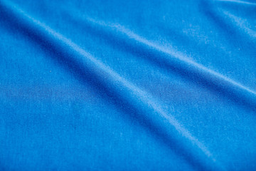 background of blue cloth