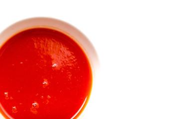 tomato juice. macro