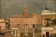 The Roman Forum in Rome, Italy - Vintage