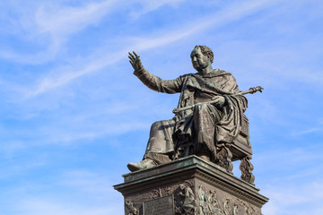 Statue of King Maximilian Joseph of Bavaria