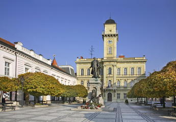 General  Klapka Square  in Komarno. Slovakia