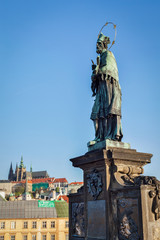 John of Nepomuk (or John Nepomucene) national saint of the Czech
