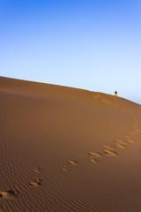 Pathway on desert