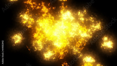 Fire effects or elements with a separate white alpha channel