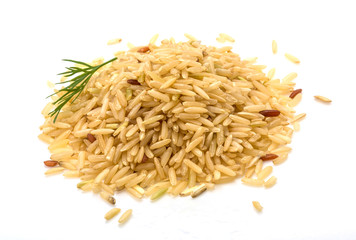 Raw rice mix