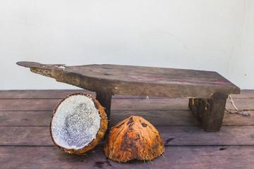 handmade fresh coconut