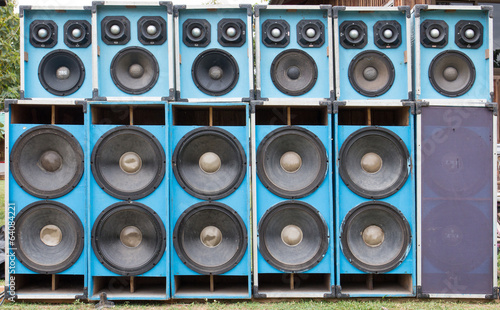 Audio speakers used