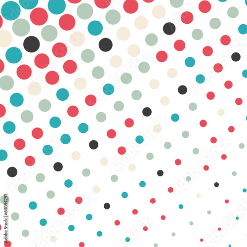 Abstract dotted background © karandaev
